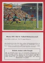 West Germany v Bulgaria Gerd Muller 10